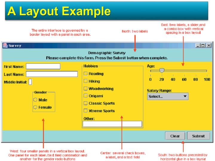 A Layout Example