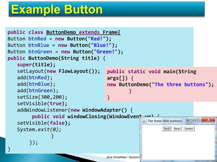 Example Button
