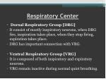 respiratory center4