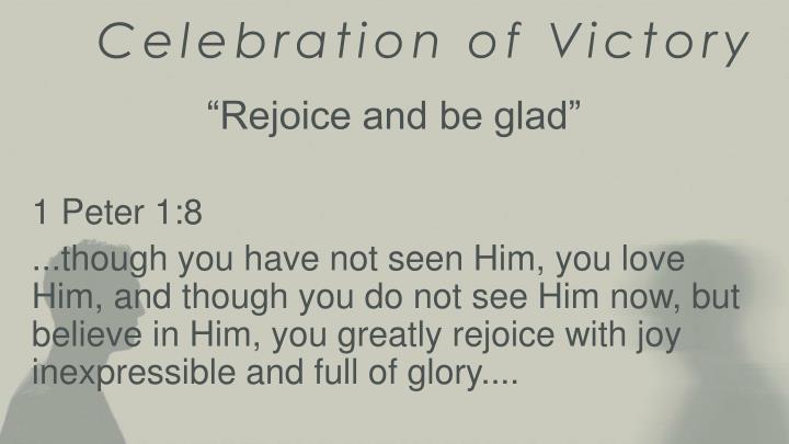 Celebration of Victory