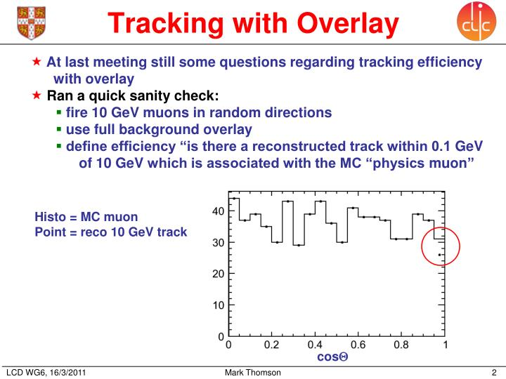 Tracking with Overlay