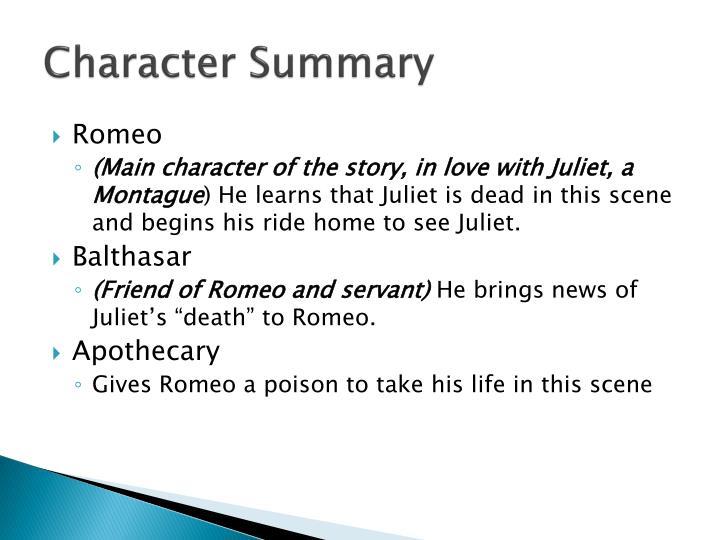 Character Summary