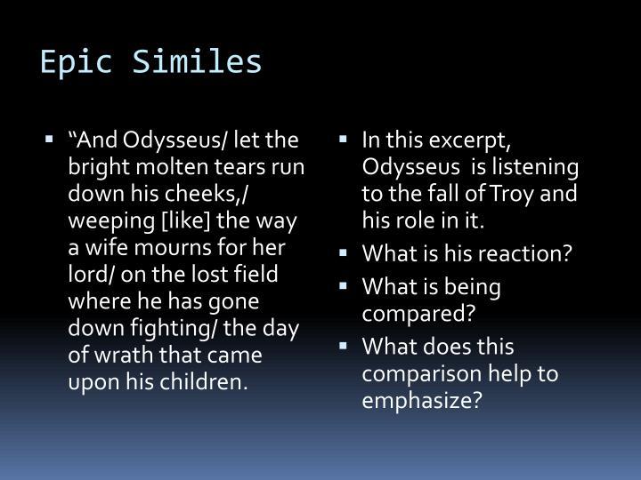 Epic Similes