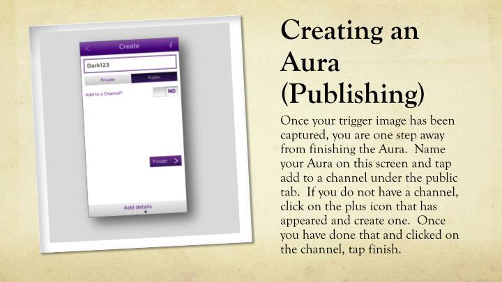 Creating an Aura (Publishing)