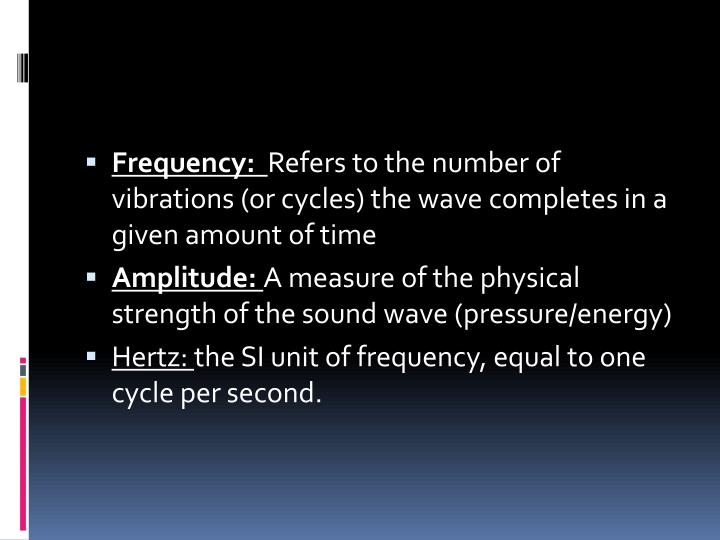 Frequency: