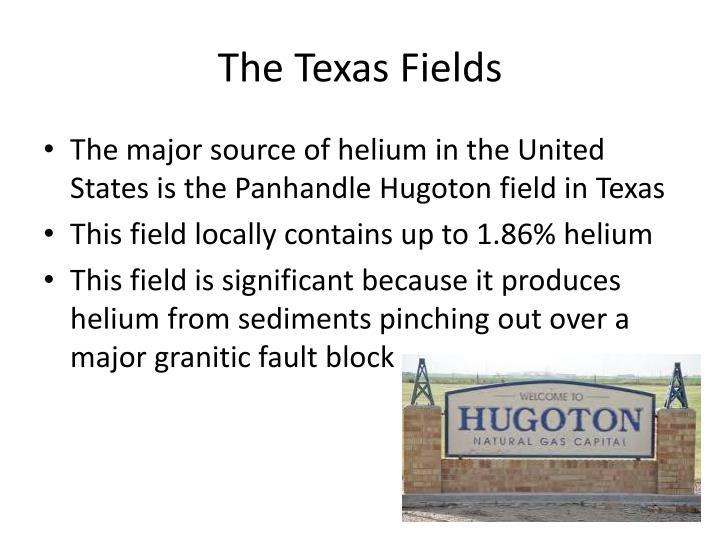 The Texas Fields