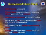successes future plans
