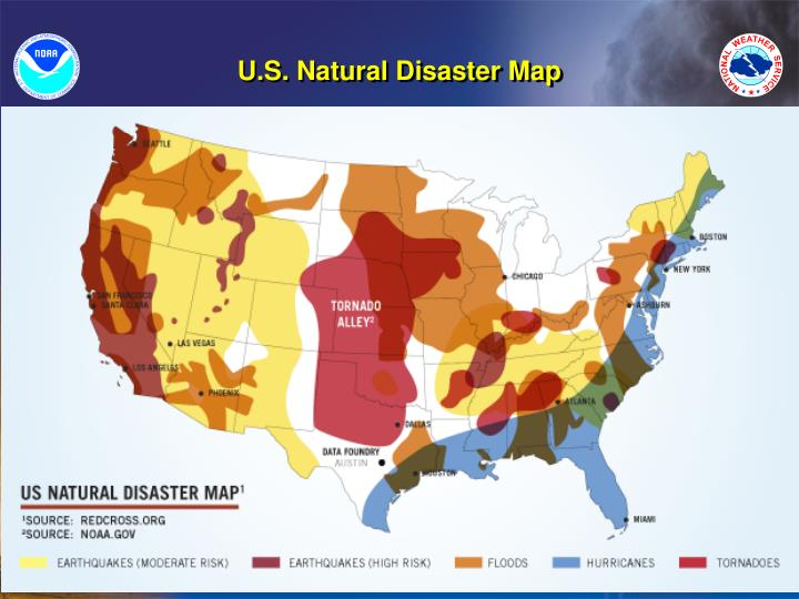 U.S. Natural Disaster Map
