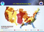 u s natural disaster map