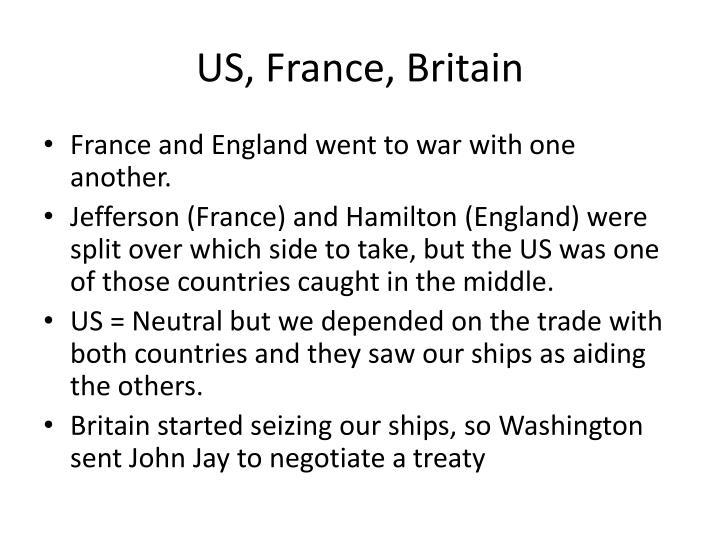 US, France, Britain