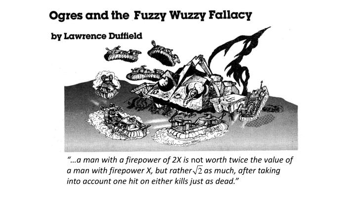 """""""…a man with a firepower of 2X is"""