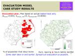 evacuation model case study results1