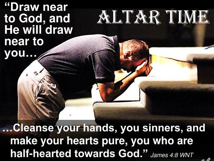 Altar Time