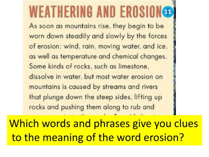 Which words and phrases give you clues