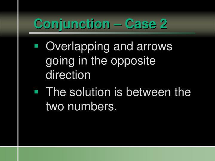 Conjunction – Case 2