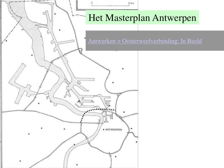 Het Masterplan Antwerpen