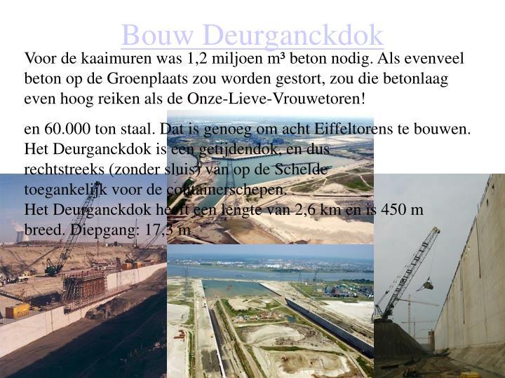 Bouw Deurganckdok