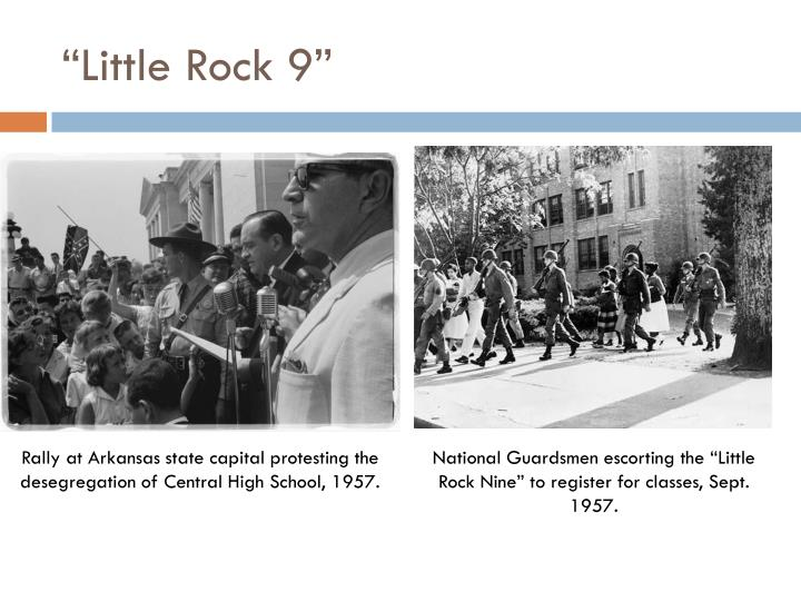 """""""Little Rock 9"""""""