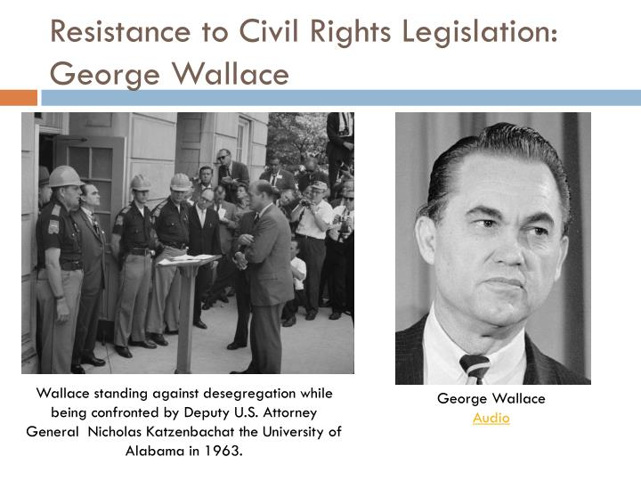 Resistance to Civil Rights Legislation: George Wallace