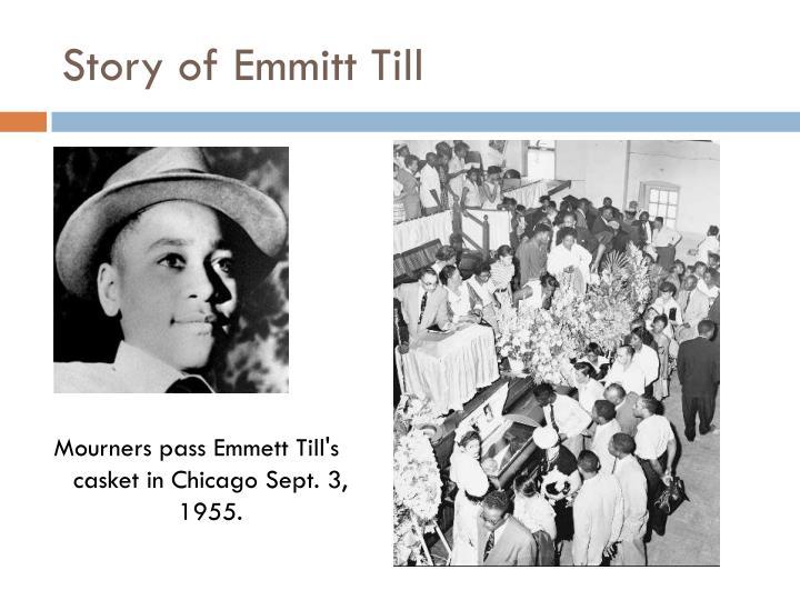 Story of Emmitt Till