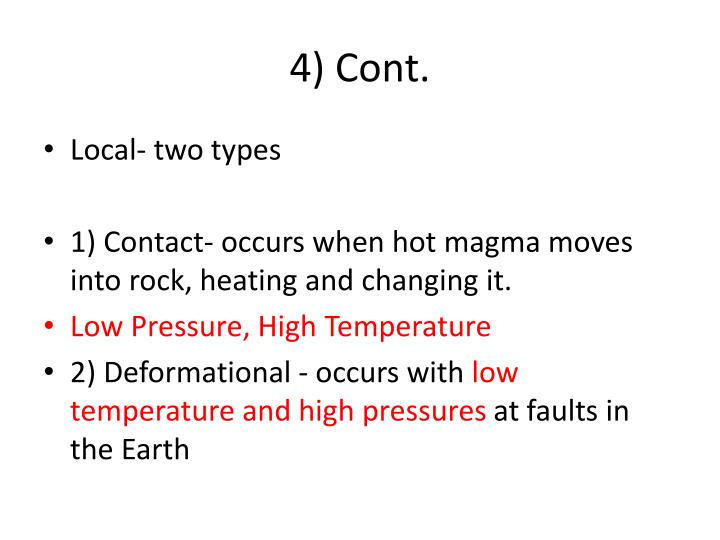 4) Cont.