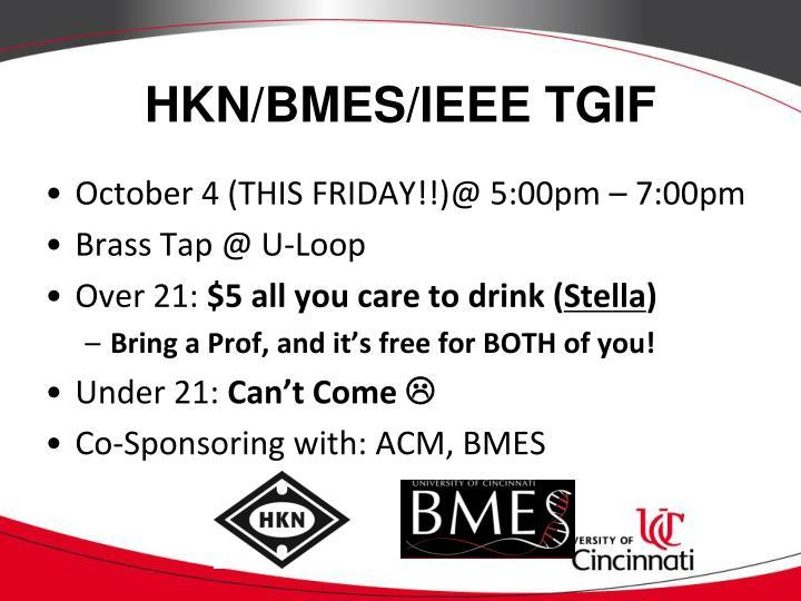 HKN/BMES/IEEE