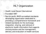 hl7 organization