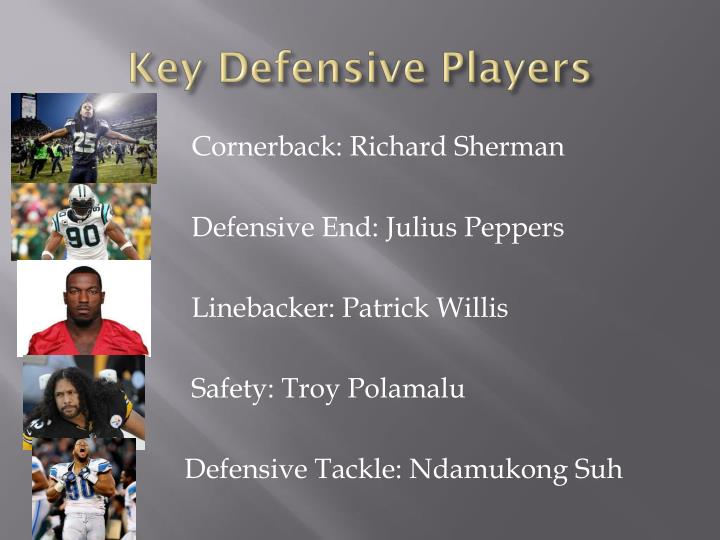 Key Defensive Players