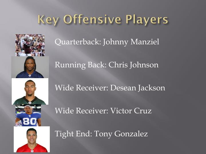 Key Offensive Players