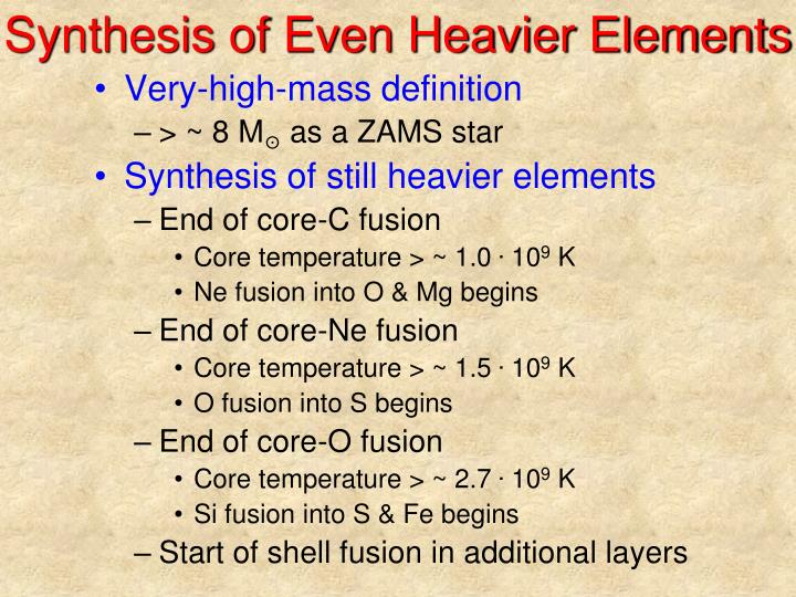 Synthesis of Even Heavier Elements