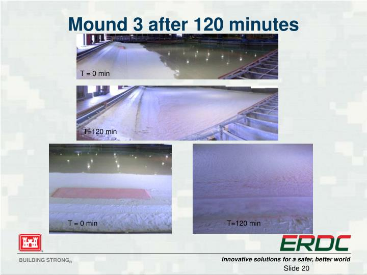 Mound 3 after 120 minutes