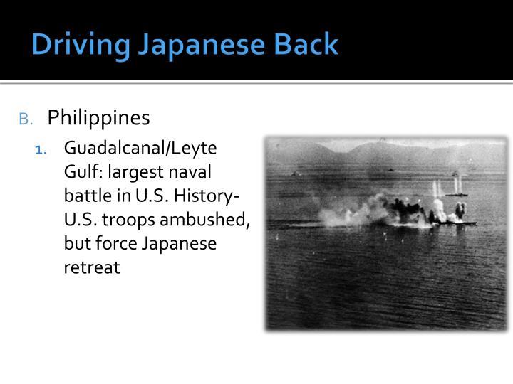 Driving Japanese Back
