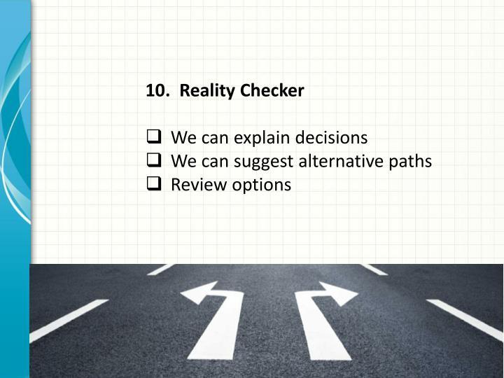Reality Checker