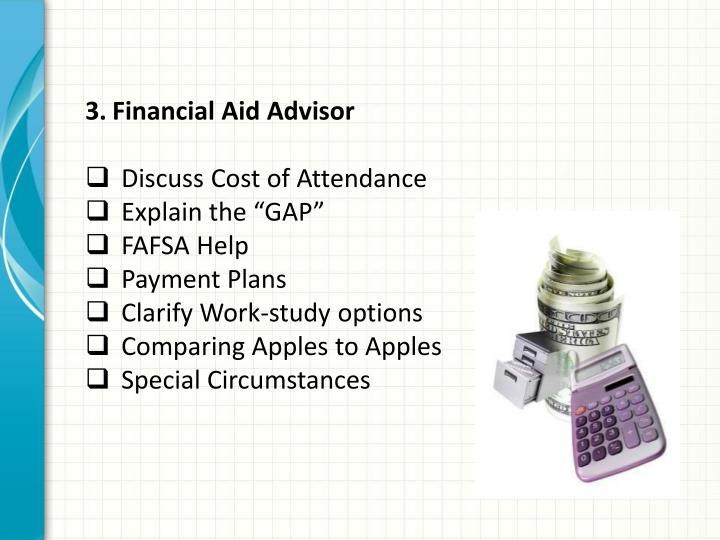 Financial Aid Advisor