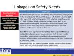 linkages on safety needs