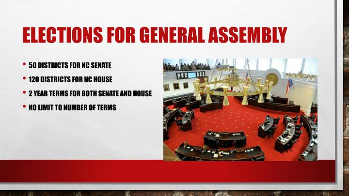 Elections for General Assembly