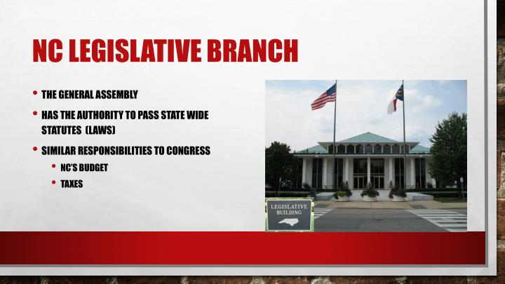 NC Legislative Branch