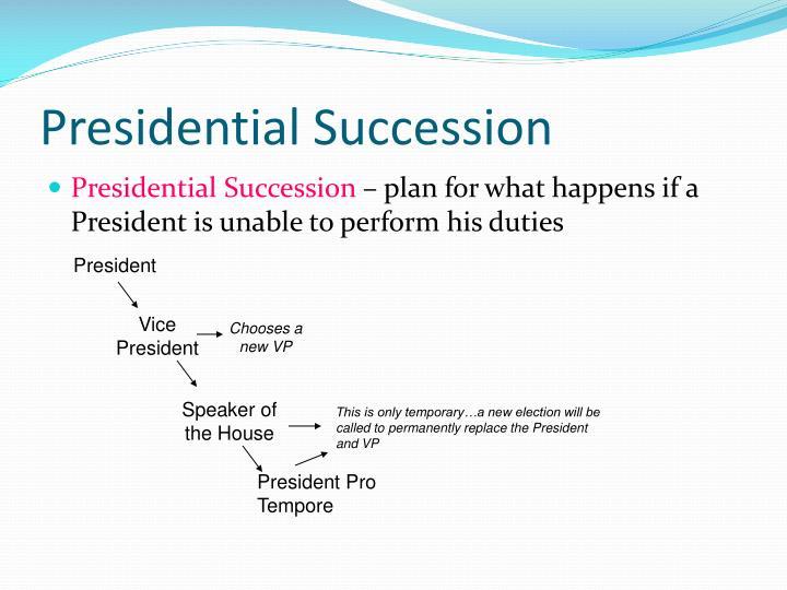 Presidential Succession