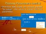 passing parameters cont d1