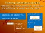 passing parameters cont d3