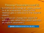 passing parameters cont d4