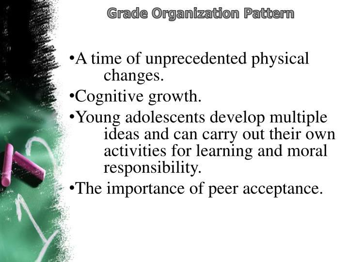 Grade Organization Pattern