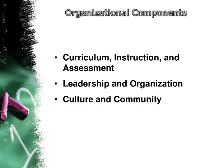 Organizational Components