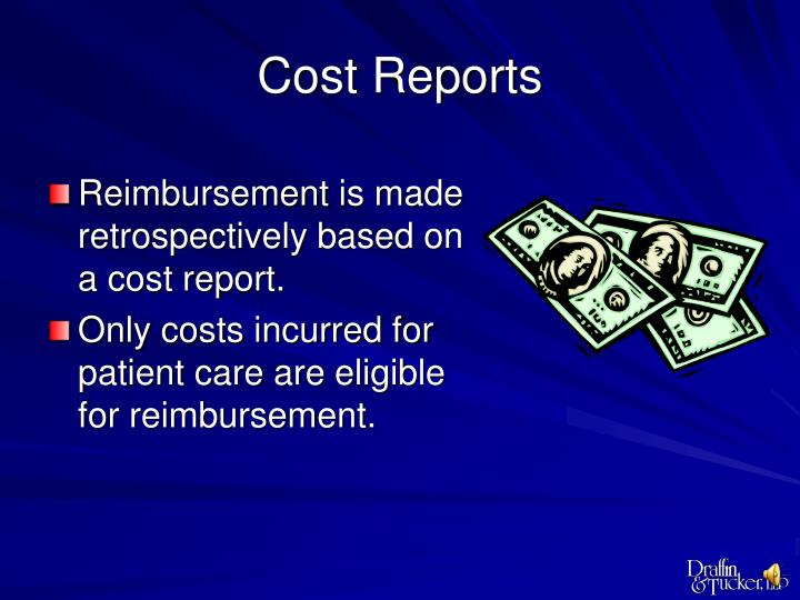 Cost Reports