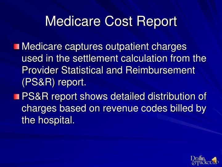 Medicare Cost Report