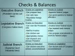 checks balances1