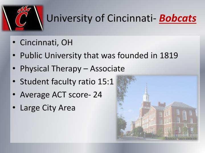 University of Cincinnati-