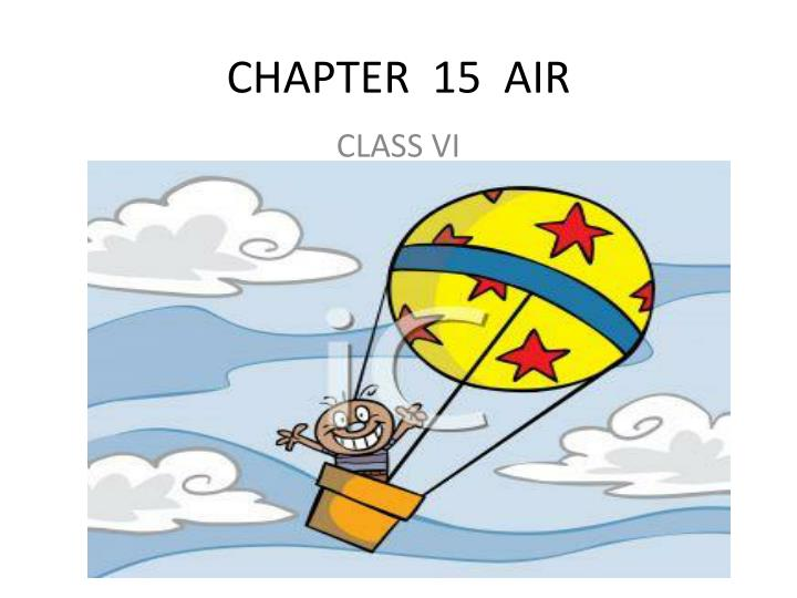 chapter 15 air