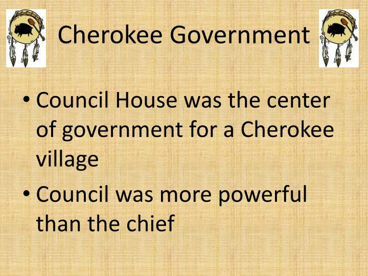 Cherokee Government