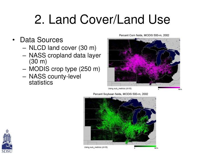 2. Land Cover/Land Use